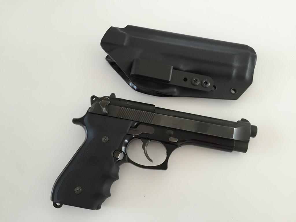 Beretta 92FS Z88 IWB Kydex Holster