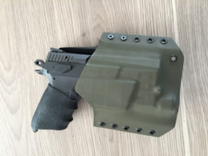 CZ P07 Light Bearing Kydex Holster