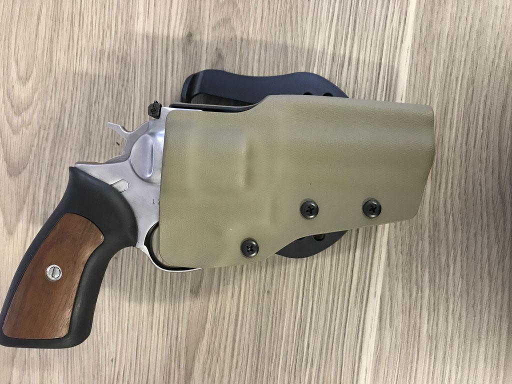 Ruger GP100 Revolver Kydex Holster - Kydex Holsters