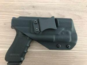 Glock 17 & Streamlight TLR-1 IWB Kydex Holster