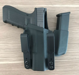 Glock 17 & Mag Pouch IWB Kydex Holster