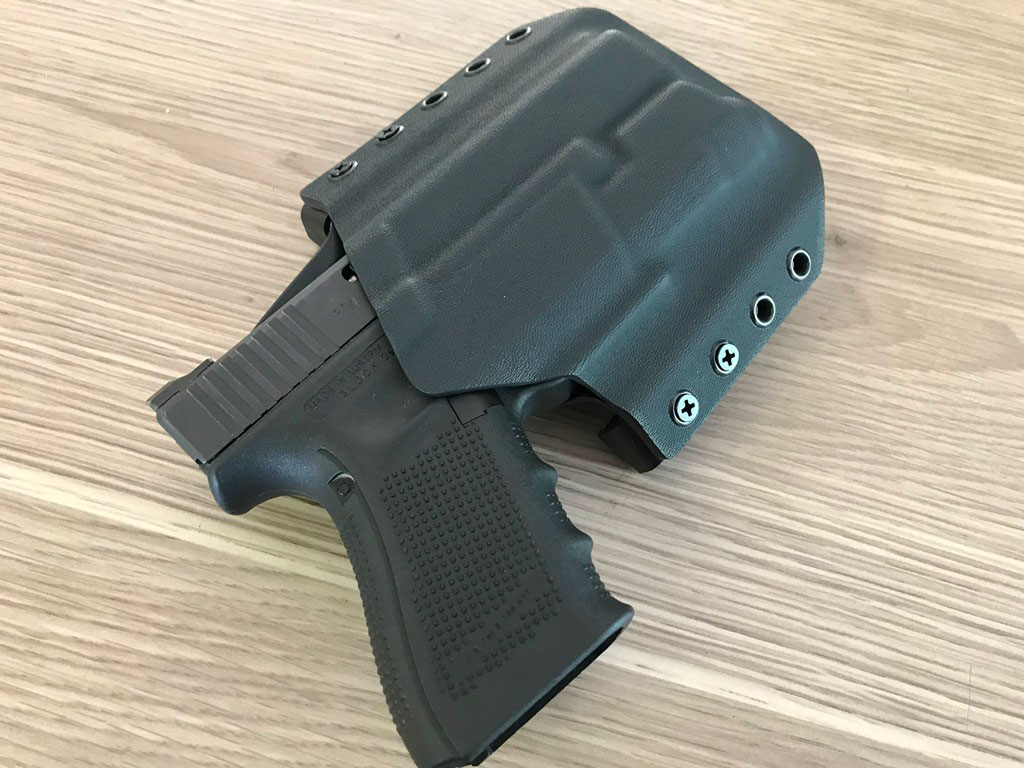 Glock 19 & Inforce APLC OWB Kydex Holster