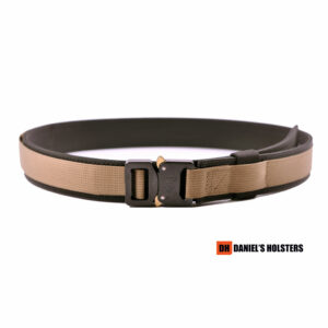Cobra EDC Belt – Coyote Brown (BL Buckle)
