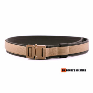 Cobra EDC Belt – Coyote Brown (CB Buckle)